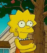 Lisa Simpson in The Simpsons Movie