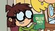Lisa holding College Math book