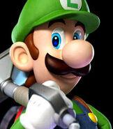 Luigi in Luigi's Mansion- Dark Moon
