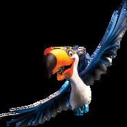 Rafael flying