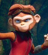 Spark the monkey pic