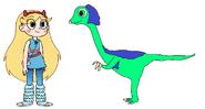 Star meets Gigantoraptor