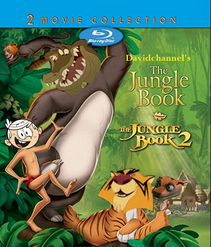 The Jungle Book 1 and 2 (Davidchannel's Version) (1967-2003) double feature poster