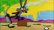 Wile E. Coyote in the 1960s Looney Tunes Cartoons