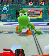 Yoshi in Mario and Sonic at the Sochi 2014 Olympic Winter Games