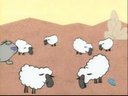 2 Stupid Dogs Sheep