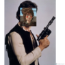 Hiccup Dressing Up as Han Solo