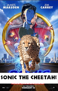 Sonic the Cheetah Poster