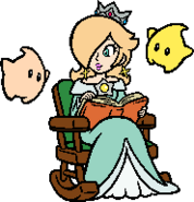 Super mario 3d world rosalina x luma stamp by luigifan natsu-d7x8r7z