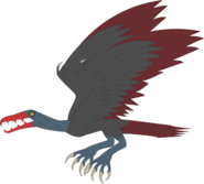 Tartarus stymphalian bird by daizua123 damqr5g