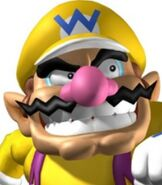 Wario in Mario Power Tennis