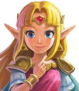 Zelda in The Legend of Zelda - A Link Between Worlds