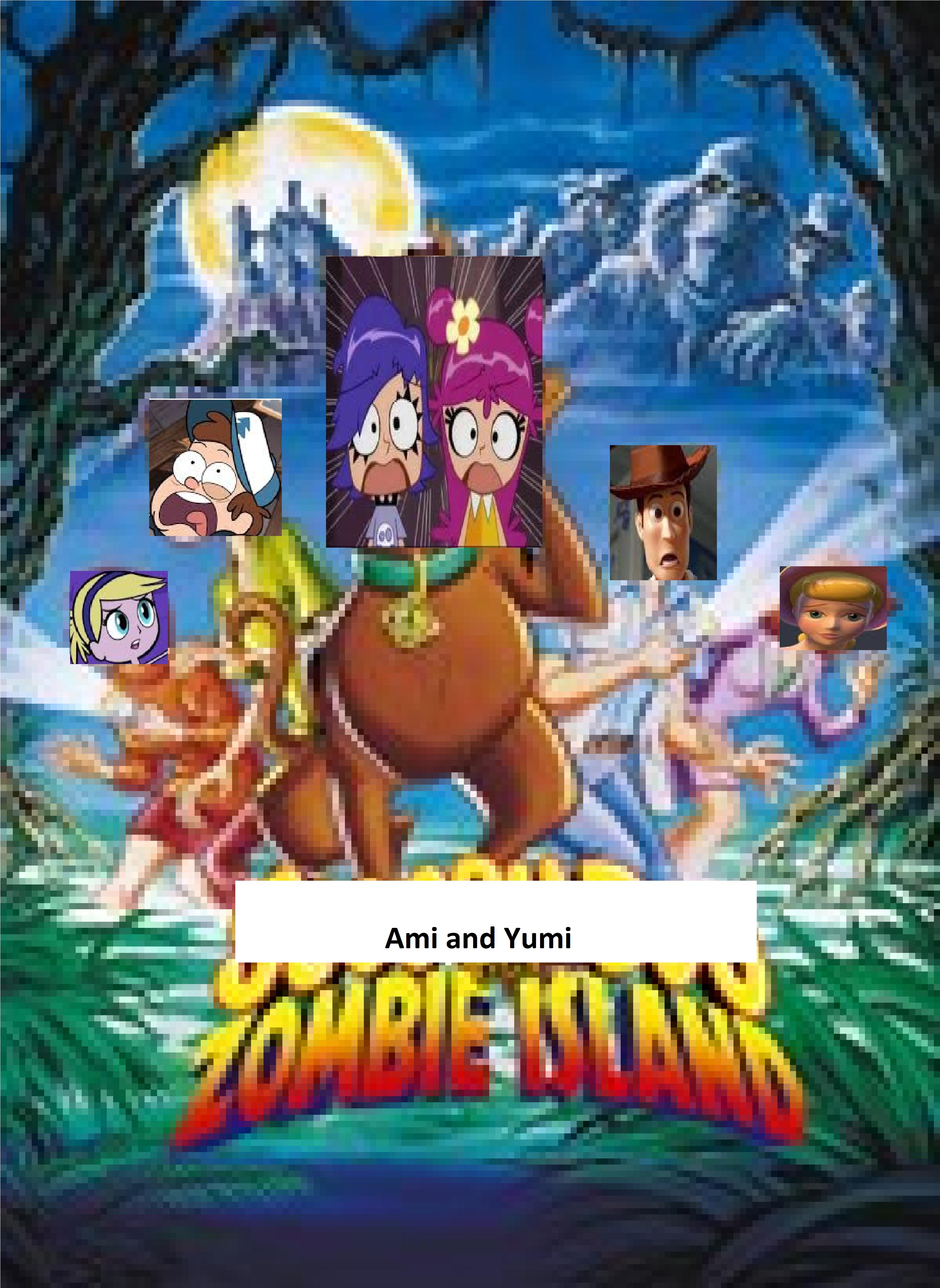 Ami and Yumi on Zombie Island