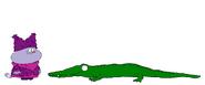 Chowder meets American Crocodile