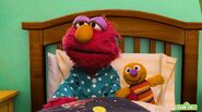 Elmo catches a cold with the sniffles