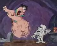 Fred Flintstone Screaming