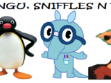Pingu, Sniffles n Rusty (Asmit005's Style)