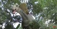 San Antonio Zoo Amargasaurus