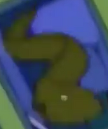 Simpsons Moray Eel