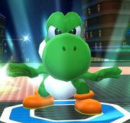 Yoshi in Mario Sports Mix