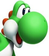 Yoshi in Mario and Sonic at the Olympic Winter Games