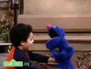 Antonio tickles Grover