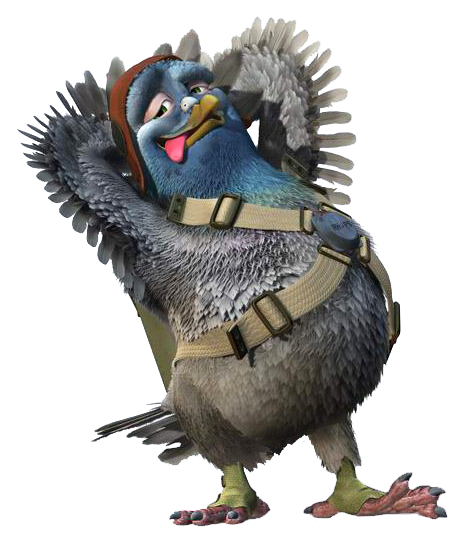 Bugsy The Pigeon