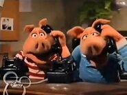 Clifford has Andy and Randy to answer the telephone