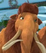 Ellie in Ice Age - A Mammoth Christmas
