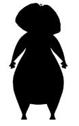 Hippo Dora's silhouette