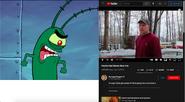 Plankton vs Psycho Dad