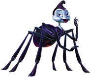 Rosie the Spider Transparent