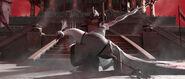 Shen attacking the Kung Fu Council