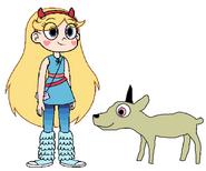 Star meets Klipspringer