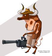 Steer Bull