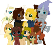 The Lord of the Rings- The Fellowship of the Ring (MLP Style)