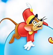Timothy mouse balloon
