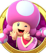 Toadette in Mario Party Star Rush