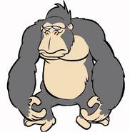 Ape (George of the Jungle (2007)) in GoAnimate