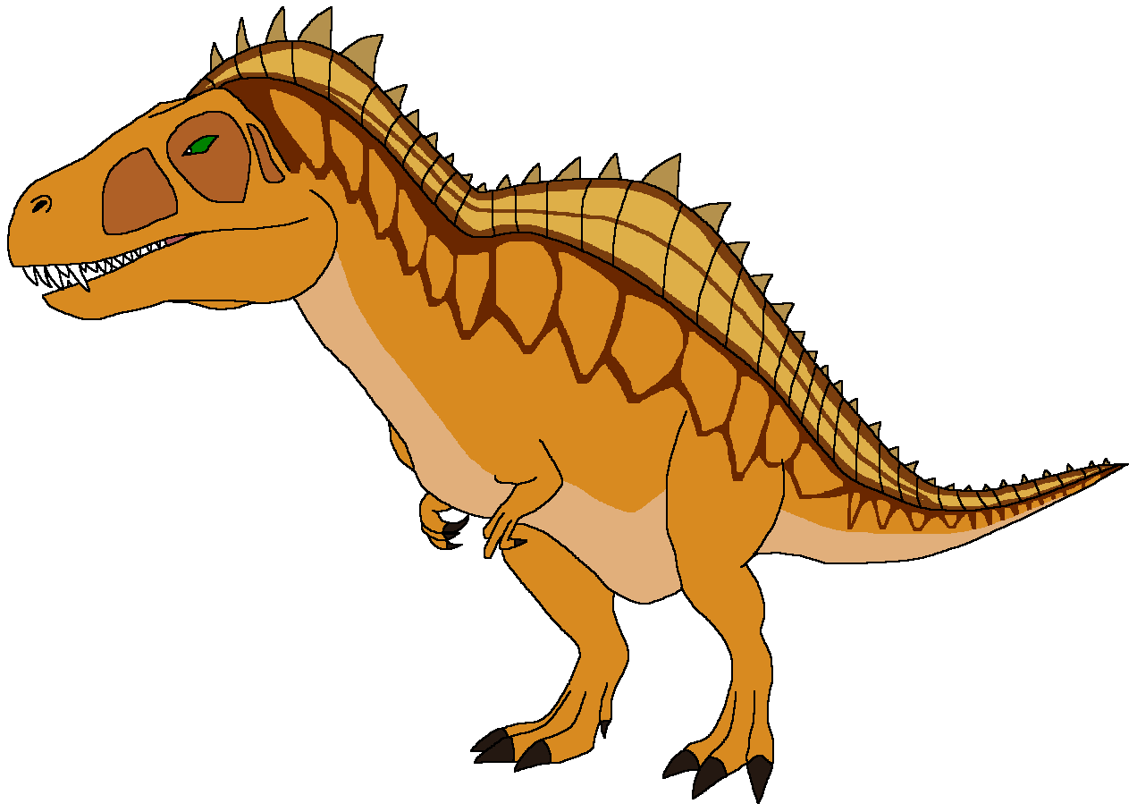 Apollo the Acrocanthosaurus