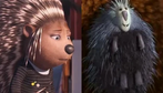 Ash the Porcupine and Buddy the Porcupine