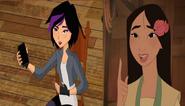 Gogo Tomago and Mulan