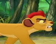 Kion is Angry