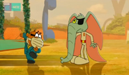 Penfold with mask8
