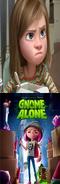 Riley Hates Gnome Alone