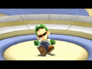 Super Mario Galaxy Luigi Sleeping