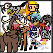 Wally, Norville and Bobgoblin, Libby, Gina, Doug, Sabrina, Ami and Yumi as Cezonic Animals