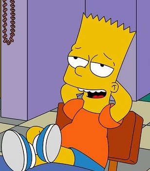 Bart and Thomas (Timon and Pumbaa)