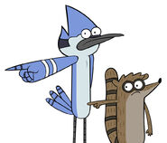 Mordecai and rigby by theinsatiableafro-d4s73pz-1-