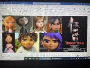 Penny, Coraline, Riley Anderson, Vanellope, Margo, Tip and Mai Hates Terror Train